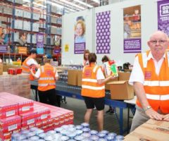 Do something generous – help people to get food on the table